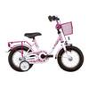 """Vermont Girly Rower dziecięcy  12"""" różowy/biały"""